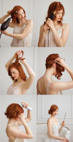 Theme: DIY Hair tutorial - I so want to try this! Very pretty, not terribly difficult, and my hair is just about long enough ^_^.Hair tutorial - I so want to try this! Very pretty, not terribly difficult, and my hair is just about long enough ^_^. Holiday Hairstyles, Popular Hairstyles, Pretty Hairstyles, Wedding Hairstyles, Teenage Hairstyles, Easy Hairstyles, Spring Hairstyles, School Hairstyles, Elegant Hairstyles