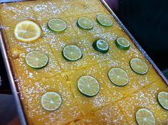 Addictive lemon tart from Azra's Mediterranean Cuisine. Oh so good!