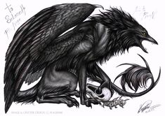 Raven Art | fear the raven by rage1986 traditional art drawings fantasy 2005 2014 ...
