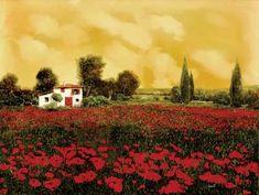 I Paveri e l'estate Calda  by Guido Borelli