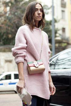 Street style at Milan fashion week autumn/winter '14/'15 gallery - Vogue Australia