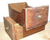 vintage desk drawers