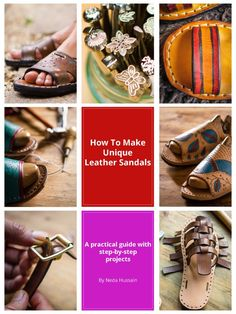 90587a9e1c49 Make yourself some beautiful sandals! Leather Ring