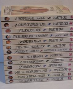 Women of the West Series Janette Oke Set of 13 Books $34.98 - FREE SHIPPING! Loved a gown of Spanish lace! Had no idea it was a part of a series!!