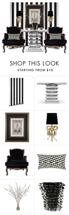 """""""19th-C Neoclassical Lithograph..."""" by gloriettequartet ❤ liked on Polyvore featuring interior, interiors, interior design, home, home decor, interior decorating, Milton & King, Tara Shaw Maison, Kate Spade and Carter Sinclair"""
