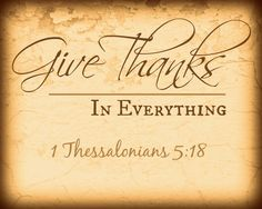 Thessalonians Give Thanks FREE Printable - Daily Dish Magazine