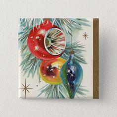 Outdoor Christmas Tree Decorations, Diy Christmas Garland, Christmas Lanterns, Retro Christmas, Christmas Holidays, Christmas Bulbs, Christmas Ideas, Vintage Holiday, Christmas Scenes