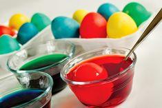 BarraDoce.com.br - Confeitaria, Cupcakes, Bolos Decorados, Docinhos e Forminhas: Tingindo Ovos