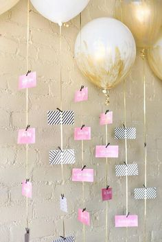 It is time to find creative ideas on how to display your wedding seating arrangements in a unique way that suits your wedding's theme and color scheme. For more ideas go to wedwithbliss.com