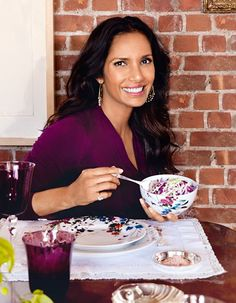 Padma Lakshmi Designs a Worldly New Tabletop Collection