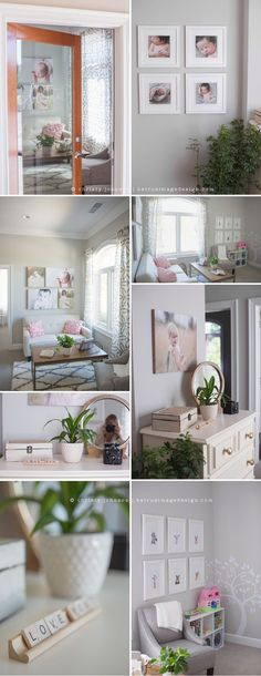 Having some serious studio envy over here. Be True Image Design | Natural Light Photography Studio | Wake Forest, NC
