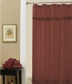 croscill jasmin shower curtain #dillards | bathroom inspiration