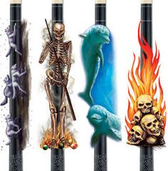 These Are Some Of The Coolest Custom Pool Cues I Ve Ever
