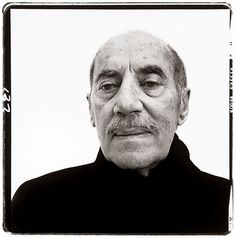 Richard Avedon (1972) portrait of a comedian Groucho Marx.