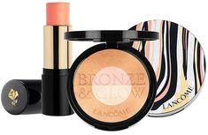 Lancome Bronze & Glow Summer 2018 Collection - Beauty Trends and Latest Makeup Collections Latest Makeup, Lancome, Beach Club, Beauty Trends, Makeup Collection, Sculpting, Beauty Makeup, Glow, Eyeshadow