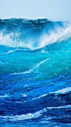 Pin by Penny Thompson on Ocean scenes in 2019 Sea And Ocean, Ocean Beach, Ocean Sunset, Waves Photography, Nature Photography, Monte Fuji, Ocean Wallpaper, Ocean Scenes, Sea Waves