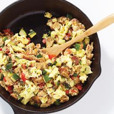 Spanish Scramble - Clean Eating - Clean Eating