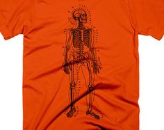 Vintage Anatomy Sketch Science Shirts for Teachers Shirts for Women Shirts for Men Shirts for Teens Christmas Gift Ideas for Him  Skeleton T