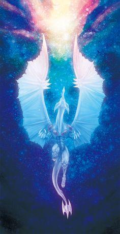 Stardust dragon - card sleeve by yugioh Yugioh Dragon Cards, Yugioh Dragons, Fantasy Dragon, Fantasy Art, Atem Yugioh, Yu Gi Oh 5d's, Yugioh Monsters, Dragon Artwork, Fantasy Monster