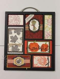 This is my last printer tray design of the year.  This is made using all Stampin' Up! products.  I started with a Christmas one last year and have done one for every holiday, they have been a huge hit! Made by Lisa Bowell-Stampin' Up! Demonstrator @ lisastamps.com