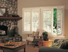 Windows ShuttersFor centuries, shutters have been prized as fine window furniture and a testament to a homeowner's discerning style and sophistication. Shutters not only provide design, privacy, and l Rustic Shutters, Interior Shutters, Indoor Shutters, Shutter Decor, Traditional Dining Rooms, Traditional Shutters, Paint Your House, Blinds Design, Home Comforts