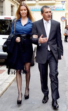 Antonio Banderas and His Young (and Tall!) Girlfriend Get All Dressed Up for Spanish Award Show?Take a Look!