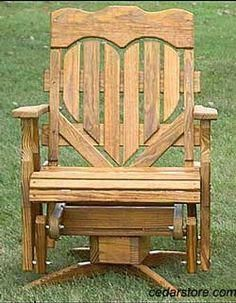 These free Adirondack chair plans will help you build a great looking chair in just a few hours, Build one yourself! Here are 18 adirondack chair diy Plans Chaise Adirondack, Adirondack Chairs, Adirondack Furniture, Porch Glider, Glider Chair, Outdoor Glider, Swivel Glider, Furniture Projects, Furniture Plans