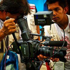 Filmando con la cámara Sony F700. #producción #documental #cine