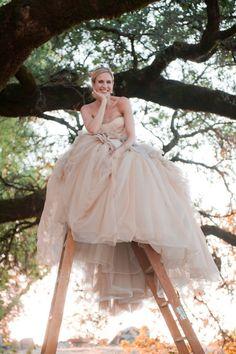Healdsburg Wedding at Chalk Hill from Tia & Claire Studio (Healdsberg, CA) ~ Dress. *