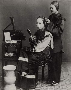 Chinese women of the 19th century