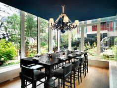 Bluespoon Restaurant \\\ Andaz Amsterdam Prinsengracht designed by Marcel Wanders.