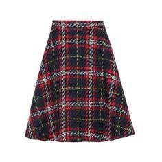 Miu Miu Tartan Skirt 800