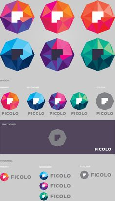 Ficolo Logo Versions by Mikael Kivelä