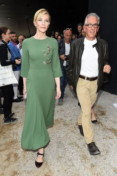 WHO: Cate Blanchett WHAT: Giulietta WHERE: Opening of the 56th International Art Biennale WHEN: May 7, 2015