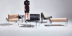 Dion Lee creates leather furniture collection for DesignByThem Gold Furniture, Leather Furniture, Furniture Making, Luxury Furniture, Furniture Decor, Traditional Furniture, Contemporary Furniture, Furniture Inspiration, Interior Design Inspiration