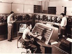Can I borrowthe complete program, overnight, I'll down load it at home...UNIVAC console
