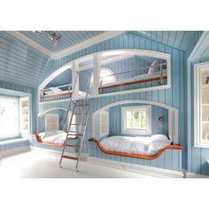 @Ashley Carey Realtors #bunkbeds #kids #spacesaver #built-ins