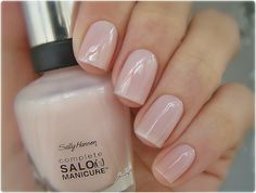 Sally Hansen Shell We Dance, swatched on nail stick, £2