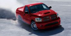 Dodge RAM pick-up with a Viper engine! Still the worlds fastest production pickup. NO Holden, youre silly little El-Camino-esque ute doesn't count Pickup Trucks, Ram Trucks, Dodge Trucks, Cool Trucks, Dodge Ram Srt 10, Dodge Cummins, Jeep Dodge, Pink Truck, Dodge Daytona