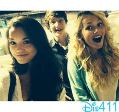 "Photo: Paris Berelc Watched ""Guardians Of The Galaxy"" With Kelli Berglund"