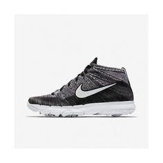 reputable site b3fc9 6375b Affordable Nike Flyknit Chukka Black White