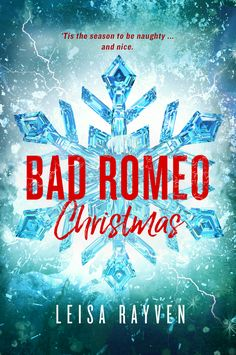 From the internationally bestselling author of BAD ROMEO, BROKEN JULIET, and WICKED HEART comes an anthology of holiday-themed novellas featuring beloved Starcrossed characters such as Ethan and Cassie, Liam and Elissa, Josh and Angel, plus the gang from The Grove.  However you're planning on spending the festive season, BAD ROMEO CHRISTMAS will get you hot and bothered this winter.