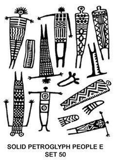 "Photo from album ""АФРИКА"" on Yandex. Ancient Symbols, Ancient Art, Native Art, Native American Art, Afrique Art, Style Africain, Indian Folk Art, Southwest Art, Indigenous Art"