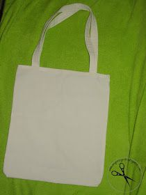 Moje nożyczki: Jak uszyć torbę na zakupy ?