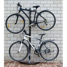 Garage Storage 2 Bike Stand, Floor and Wall Mount: Amazon.co.uk: Sports & Outdoors