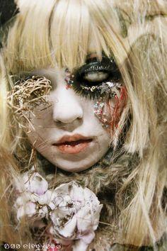 [ • shironuri - guro - creepy makeup • ]