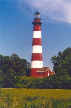 Assateague Lighthouse, Assateague Island, VA.