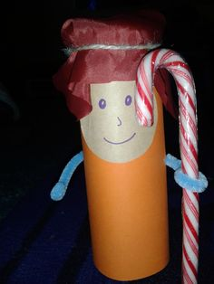 jesus is my shepherd craft for kids | Flame: Creative Children's Ministry: Messy Christmas Shepherd Craft