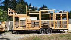 How the Daniel Miller Tiny House was Built