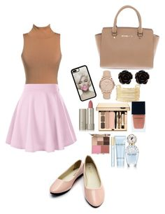 """""""Untitled #149"""" by rowanstella on Polyvore featuring Michael Kors, Burberry, Erica Lyons, Charlotte Russe, Ilia, Stila, Marc Jacobs and Witchery"""